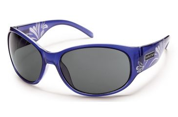 Suncloud Polarized Optics Carousel Sunglasses - Crystal Purple Laser Frame/Gray Polarized Polycarbonate Lens S-CAPPGYPR