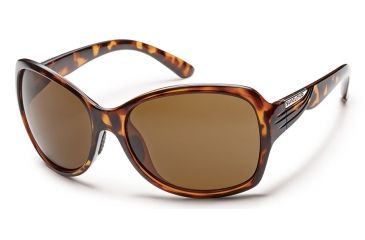 Suncloud Polarized Optics Cassandra Sunglasses - Tortoise Frame/Brown Polarized Polycarbonate Lens S-CRPPBRTT