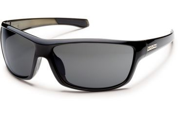Suncloud Polarized Optics Conductor (New) Sunglasses - Black Backpaint Frame, Gray Polarized Polycarbonate Lenses S-CDPPGYBK