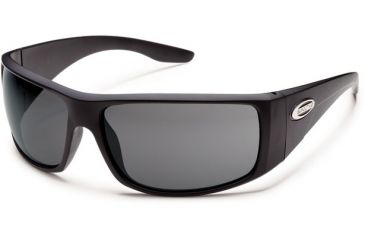 Suncloud Polarized Optics Pit Stop (New) Sunglasses - Matte Black Frame, Gray Polarized Polycarbonate Lenses S-PSPPGYMB