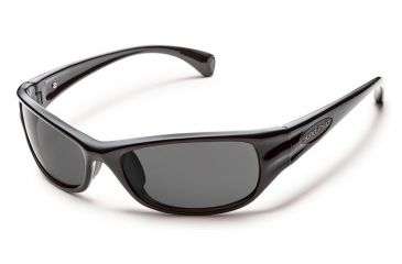 521aa76d965 Suncloud Polarized Optics Star Sunglasses - Black Frame Gray Polarized  Polycarbonate Lens S-STPPGYBK