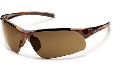 Suncloud Polarized Optics Traverse (New) Sunglasses - Brown Frame, Brown Polarized Polycarbonate Lenses S-TVPPBRBR