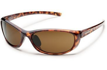 Suncloud Polarized Optics Wisp (New) Sunglasses - Tortoise Frame, Brown Polarized Polycarbonate Lenses S-WSPPBRTT
