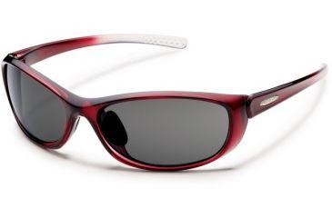Suncloud Polarized Optics Wisp (New) Sunglasses - Wine Frame, Gray Polarized Polycarbonate Lenses S-WSPPGYWN