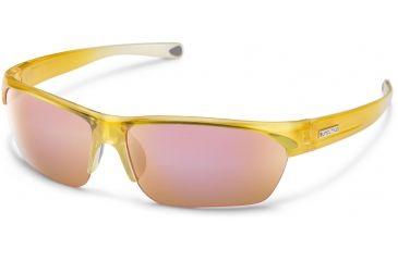 6558a52e0c Suncloud Polarized Optics Detour Sunglasses-Yellow Fade-Polarized Pink  Mirror