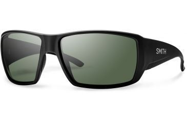 5147e072fc Suncloud Polarized Optics Guide s Choice Sunglasses - Men s-Matte Black-Polarized  Gray Green