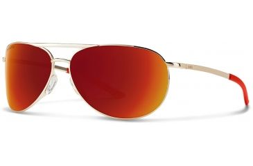 cea0b69ce15 Suncloud Polarized Optics Serpico Slim 2.0 Sunglasses - Men s-Gold-Sun Red  Mirror