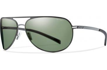 3c336517e1 Suncloud Polarized Optics Showdown Sunglasses-Matte Gunmetal-Polarized Gray  Green