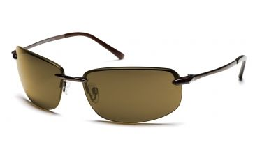 Suncloud Sunglasses - Tailwind with Brown Frames, Brown Lenses