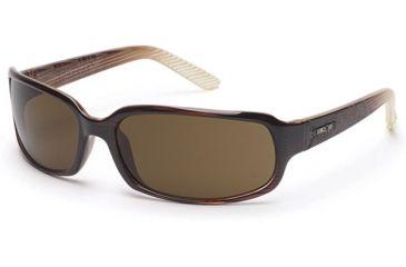 Suncloud Uptown Sunglasses, Brown Stripe Laser Frame, Brown Polarized Polycarbonate Lens S-UTPPBRBZ
