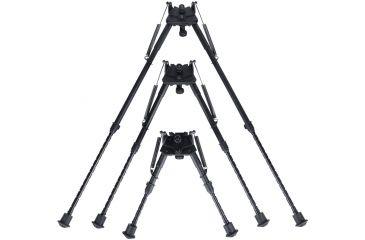 Sun Optics 6In./9In. Lightweight Bipod W/ Qd Rifle Stud Attach CBP-6