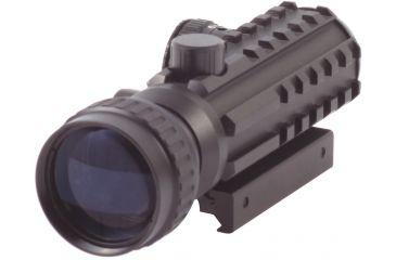 Sun Optics Red Dot Sight, 2 Moa  W/ 2X Booster/Picatinny Rails CD12-RM242