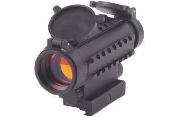 Sun Optics Red Dot Sight, Cross HaIR Reticle/Picatinny Rails CD13-RDM39