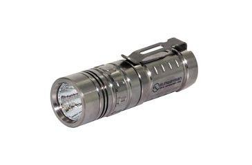 Sunwayman M11R U3 Sirius 300 Lumens Ultra-compact Magnetic Control Titanium LED Flashlight - Uses 1 x CR123A or 1 x 16340 Battery, Silver SUNWAYMAN-M11R-SIRIUS