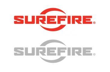 Surefire Logo Vinyl Decal 9.5x2.25in - Red