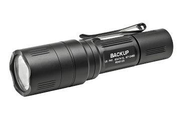 Surefire EB1T Backup LED Flashlight, Tactical Switch, Silver EB1T-A-SL