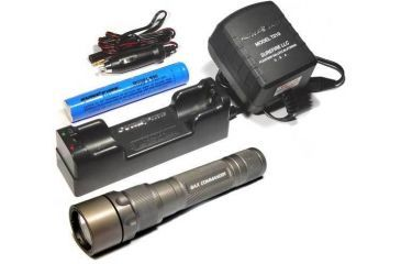 SureFire 8AX Commander Flashlight Rechargeable System