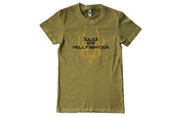 Surefire Hellfighter T-Shirt, Military Green - S