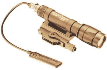 Surefire Scout 200 Lumens Led Weapon Mount Flashlight Tan M620c Tn