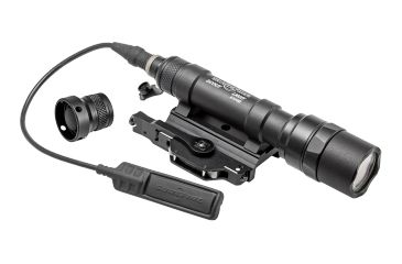SureFire Scoutlight Weapon Light, Throw Lever Mount, 500 Lumens, Black M620U-A-BK