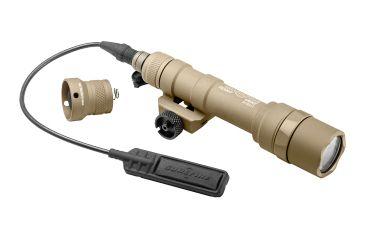 SureFire Scoutlight Weapon Light, Thumb Screw Mount, 500 Lumens, Tan M600U-A-TN
