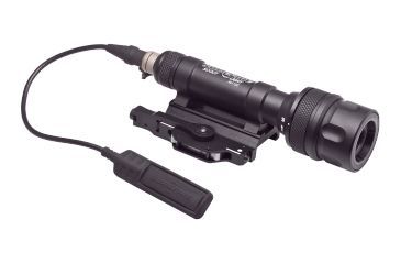 SureFire Scoutlight Weapon Light, Wh/Ir, M93, 150 Lumens/120Mw, Black M620V-A-BK