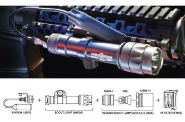 SureFire M600 Kit01 Scout Light Weaponlight Kit