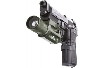 SureFire Military Weaponlight on Beretta Pistol