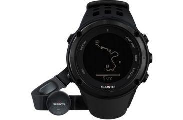 Suunto Ambit2 Black w/ Heart Rate Monitor, Black SS019562000