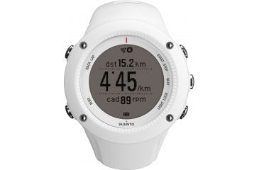 Suunto AMBIT2 R HR Watch with Heart Rate Comfort Belt, White, One Size SS020658000