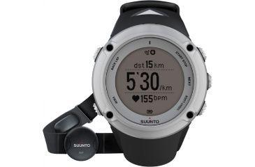 Suunto Ambit2 Silver w/ Heart Rate Monitor, Silver SS019651000
