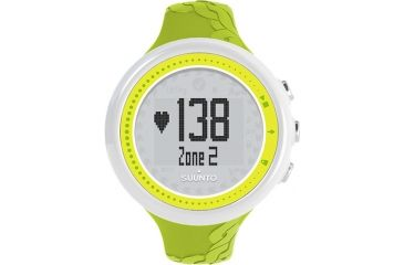 Suunto M2 Heart Rate and Calorie Monitor Watch, Lime, One Size SS020648000