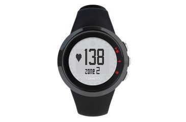 Suunto M2 Heart Rate and Calorie Monitor Watch - Mens Black - Clamshell package SS014533000