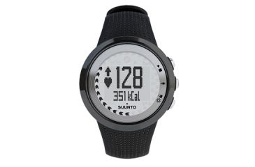 Suunto M4 Heart Rate Monitor Watch - Men - Black/Silver WITHOUT Belt SS015706000