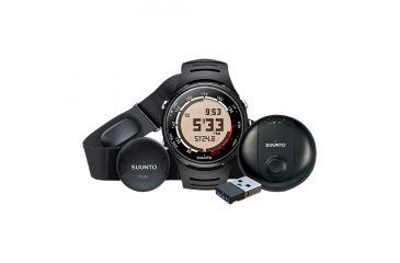 Suunto T3D GPS Pack  - T3D Watch, Black + GPS Pod SS016823000