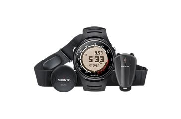 Suunto t3d Running Pack SS015312000 - t3d Watch, Foot POD, Dual Comfort Belt