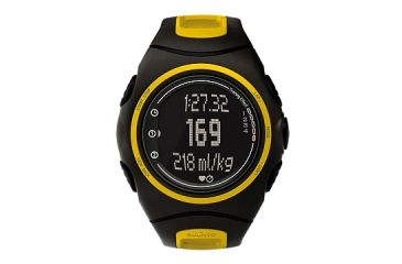 Suunto t6d Heart Rate Watch - Black Flame