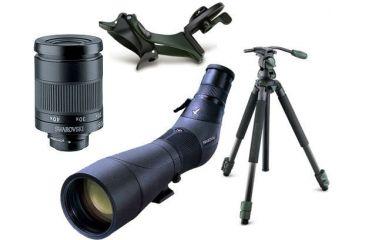 Swarovski ATS80 HD Angled Spotting Scope Digiscoping Kit w/ DCB-A Digital Camera Base & Tripod