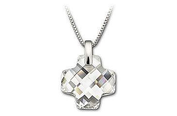 Swarovski clear crystal cross pendant 1806501 free shipping over 49 swarovski clear crystal cross pendant aloadofball Choice Image