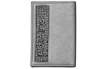 Swarovski Game Black Card Holder