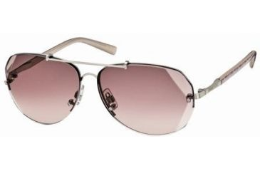 Swarovski Atomic Sunglasses SK0006 - Shiny Palladium Frame Color, Gradient Lens Color