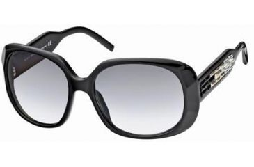 Swarovski Ava Sunglasses SK0008 - Shiny Black Frame Color