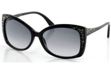 6e1e5e20cda Swarovski Bianca Sunglasses SK0019 - Shiny Black Frame Color
