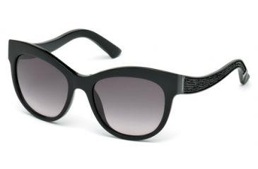 733a76fcefa Swarovski SK0110 Sunglasses - Shiny Black Frame Color