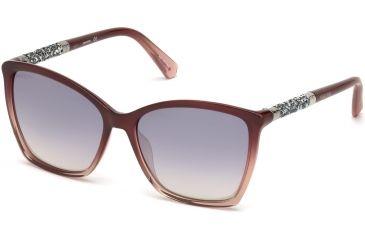 388c8ae87b2 Swarovski SK0148 Sunglasses - Shiny Bordeaux Frame Color