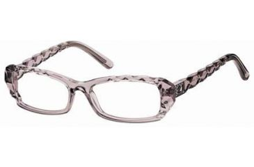 Swarovski SK5007 Eyeglass Frames - Shiny Light Blue Frame Color