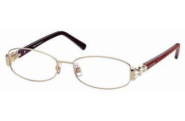 Swarovski SK5021 Eyeglass Frames - Shiny Rose Gold Frame Color