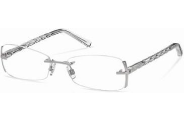 Swarovski SK5024 Eyeglass Frames - Shiny Palladium Frame Color