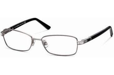 Swarovski SK5027 Eyeglass Frames - Shiny Dark Ruthenium Frame Color