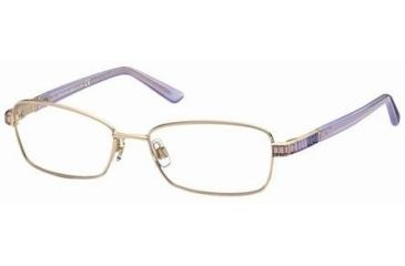 Swarovski SK5027 Eyeglass Frames - Shiny Rose Gold Frame Color